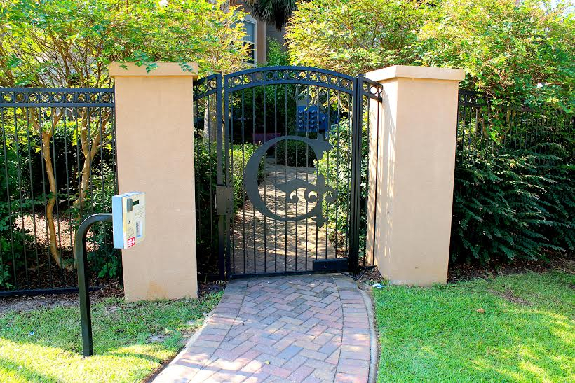 Gated Pool Access