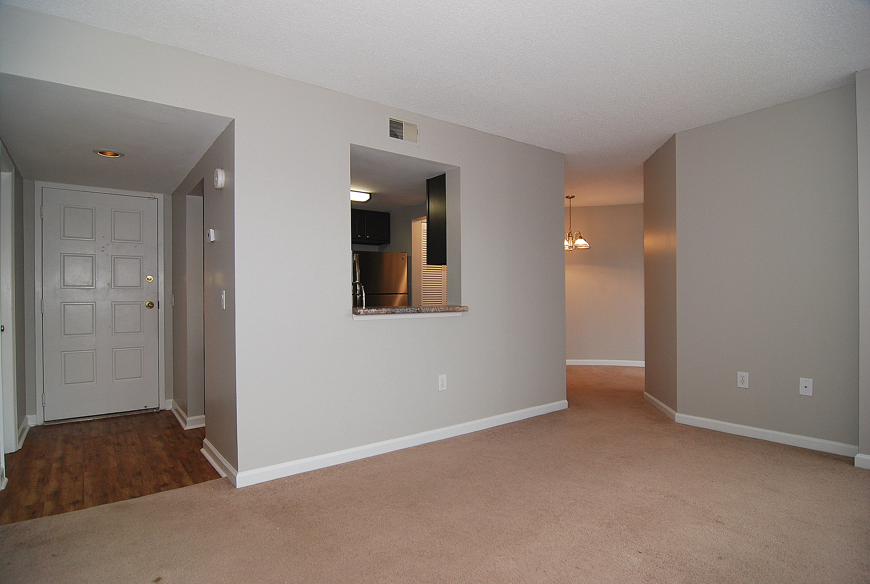 The Wilshire House 1100 Wheat Street- Unit 512, Living and Dining Room