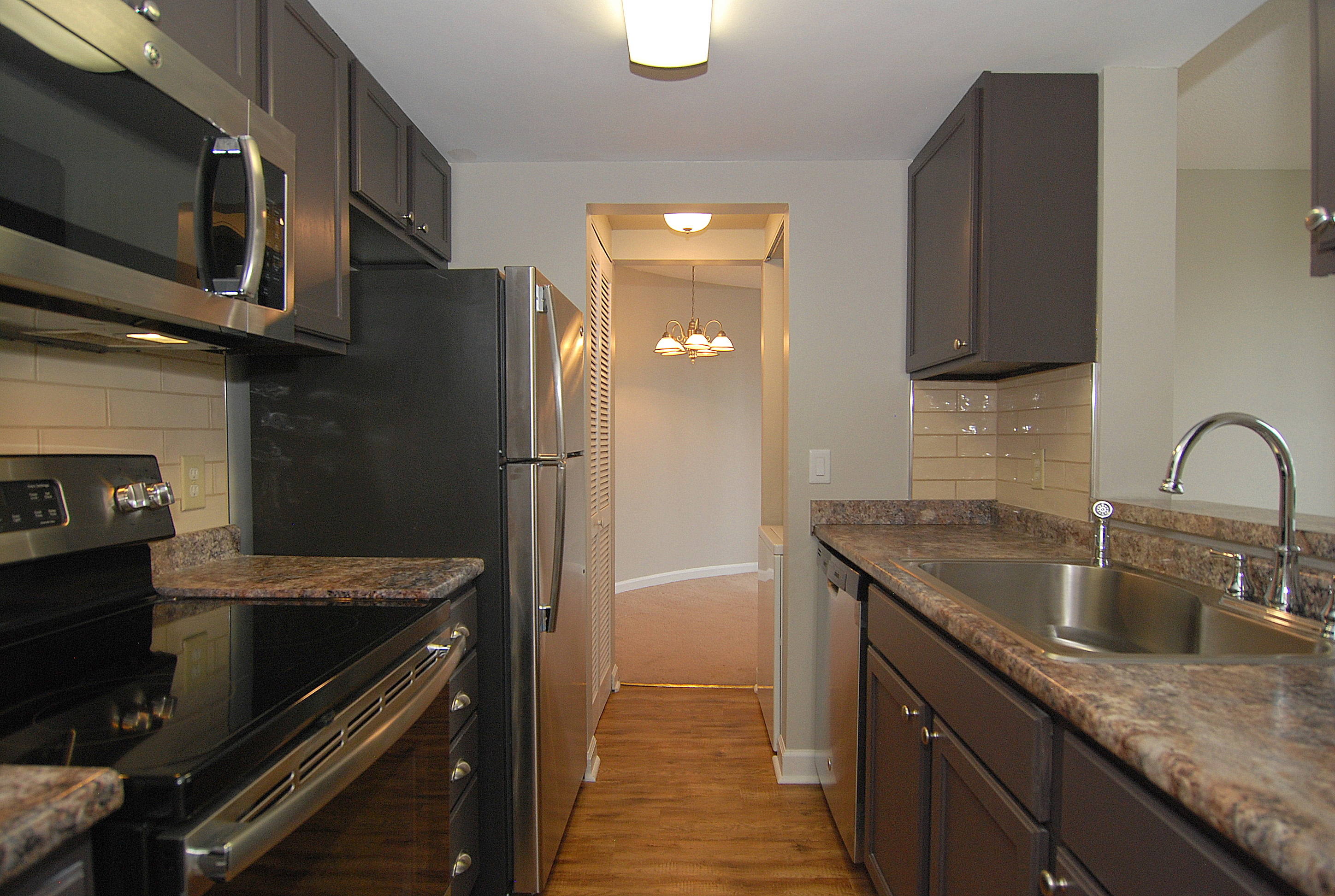 The Wilshire House 1100 Wheat Street- Unit 512, Kitchen and Dining Rm