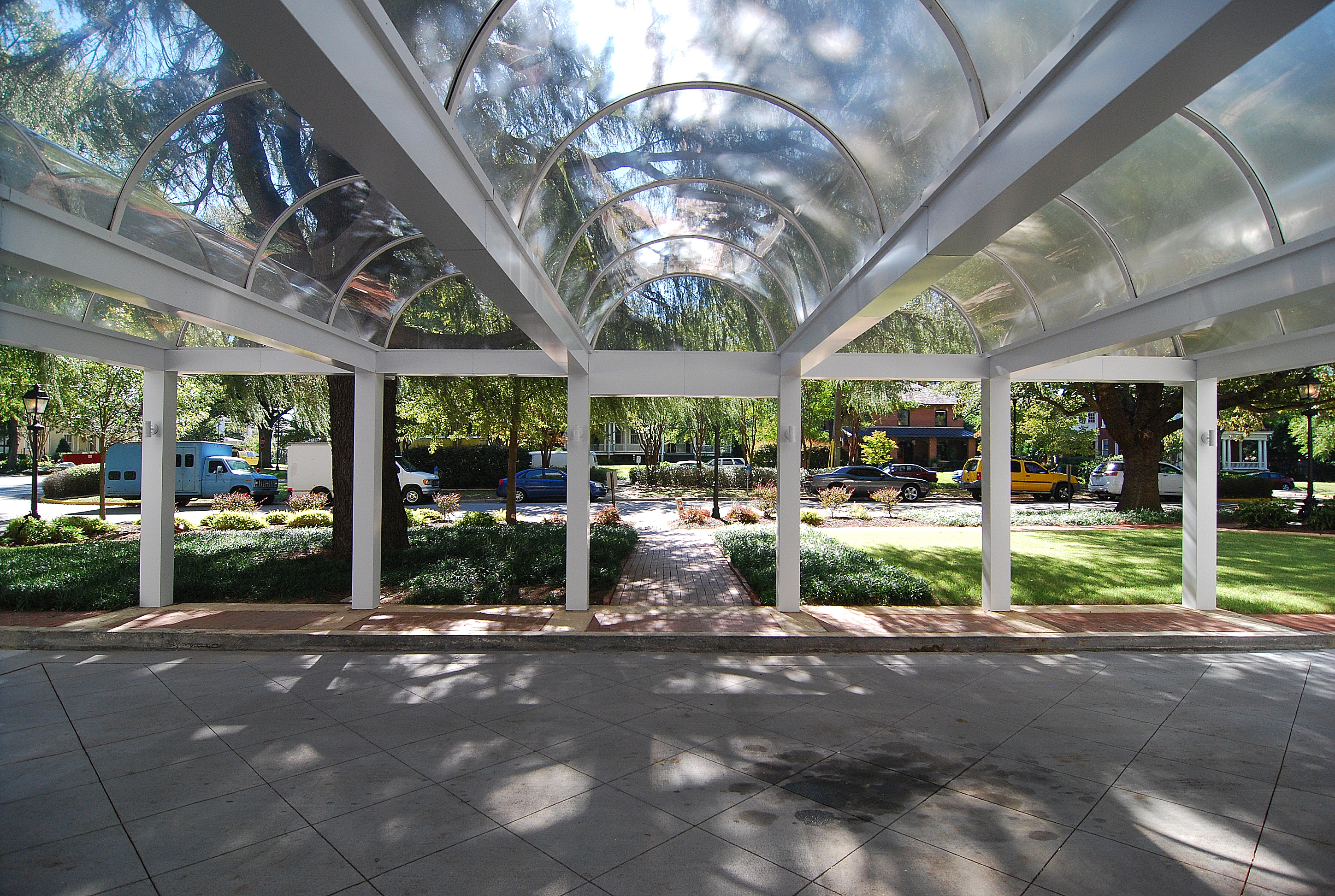 The Heritage- Porte-cochere at Main Entrance