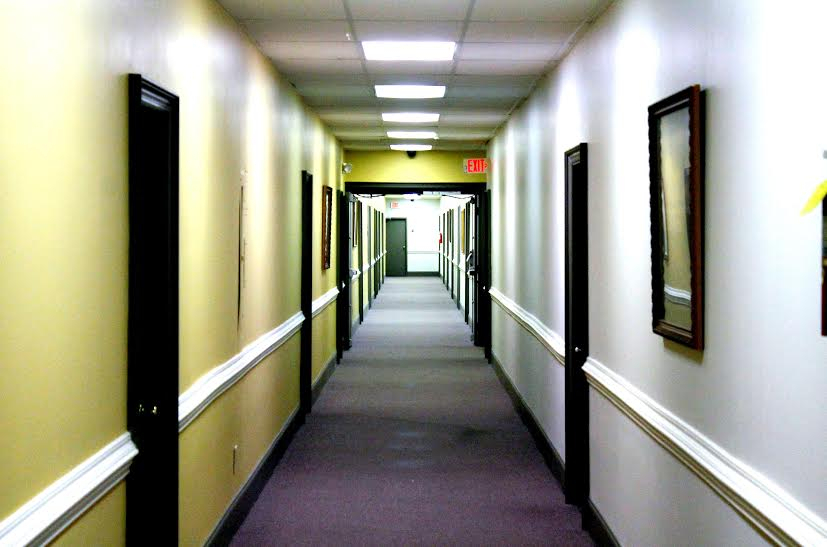 palmetto offices hallway