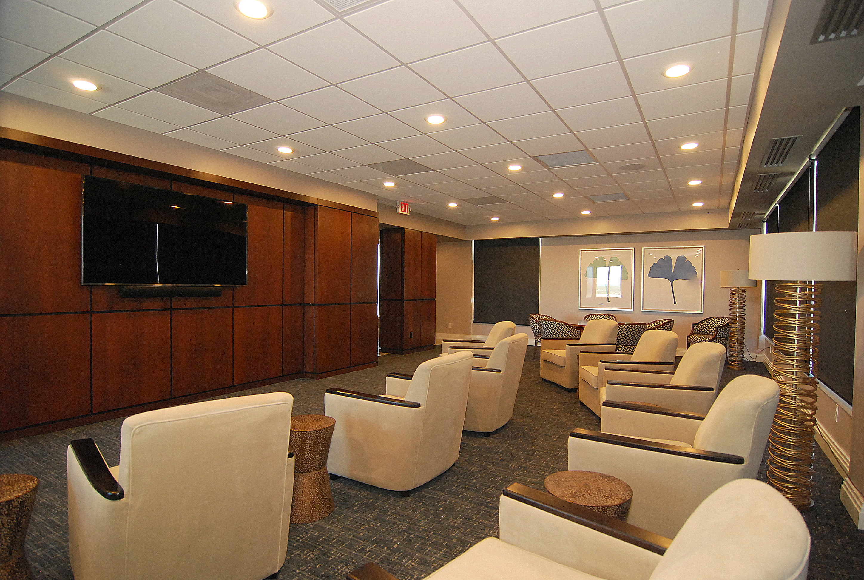The Heritage- Media Room